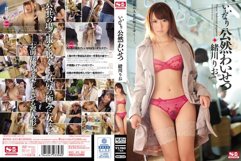 หนังavญี่ปุ่น SNIS-532 Rio Ogawa พนักงานสาวสวย ดูดควยนอกสถานที่